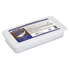 SCRUBS® Metal Polish Wipes, 8 x 10.5, Yellow, 36/Tub, 6/Carton