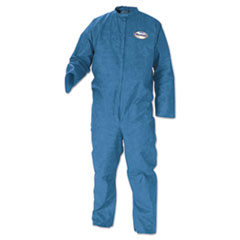 KleenGuard* A20 Breathable Particle Protection Coveralls, Blue, Medium, 24/Carton