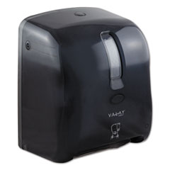 "Morcon Tissue Valay Proprietary Roll Towel Dispenser, 11.75"" x 14"" x 8.5"", Black"