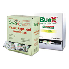 BugX® Insect Repellent Towelettes