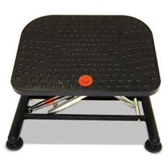 Alera® Active Pneumatic Footrest, 20w x 14.5d x 17.25h, Black
