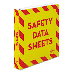 Avery® Safety Data Sheet Heavy-Duty Non-View Preprinted Binder