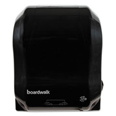 "Boardwalk® Hands Free Mechanical Towel Dispenser, 13 1/4"" x 16 1/4"" x 10 1/4"", Black"
