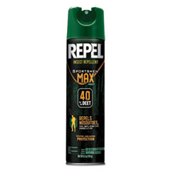 Diversey™ Repel Insect Repellent Sportsmen Max Formula, 6.5 oz Aerosol, Unscented, 12/CT
