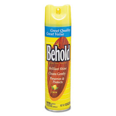 Diversey™ Behold Furniture Polish, Lemon, 12.5 oz Aerosol Spray