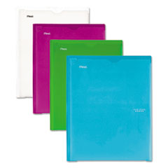 Five Star® Customizable Pocket & Prong Plastic Folder