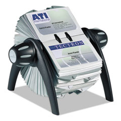 Durable® VISIFIX® Flip Rotary Business Card File