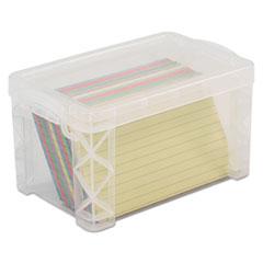 Advantus Super Stacker® Card File Box
