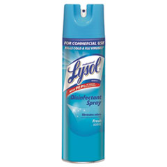 Disinfectant Spray, Fresh, 19 oz Aerosol Can