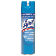 Professional LYSOL® Brand Disinfectant Spray, Spring Waterfall, 19 oz Aerosol Spray
