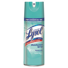Professional LYSOL® Brand Disinfectant Spray, Crystal Waters, 12.5 oz Aerosol Spray