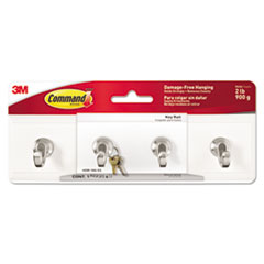 Command™ Decorative Key Rail