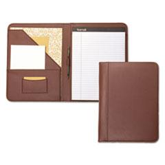 Samsill® Contrast Stitch Leather Padfolio Thumbnail