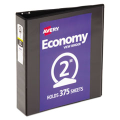 Avery® Economy View Binder with Round Rings