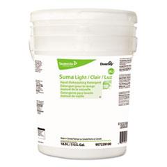 Diversey™ Suma Light D1.2 Hand Dishwashing Detergent, Liquid, Citrus, 5 gal Pail