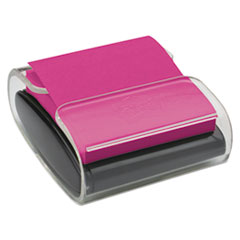 Wrap Dispenser, For 3 x 3 Pads, Black/Clear