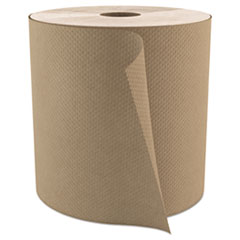 "Cascades PRO Select Roll Paper Towels, 1-Ply, 7.9"" x 800 ft, Natural, 6/Carton"