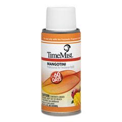 TimeMist® MicroTech Metered Aerosol Fragrance Dispenser Refills, Mango, 3 oz, 6/Carton