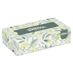 Naturals Facial Tissue, 2-Ply, White, 125/Box, 48 Boxes/Carton