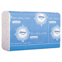 Kleenex® Reveal Multi-Fold Towels, 2-Ply, 8 x 9.4, White, 16/Carton
