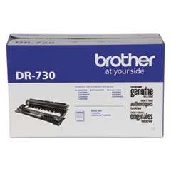 Brother DR730 Drum Unit, 12,000 Page-Yield, Black