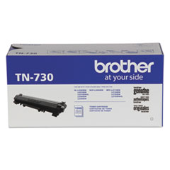 Brother TN730 Toner, 1,200 Page-Yield, Black