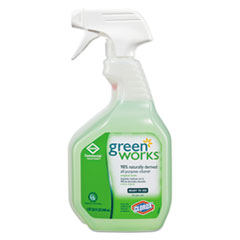 Green Works® All-Purpose and Multi-Surface Cleaner, Original, 32 oz Smart Tube Spray Bottle