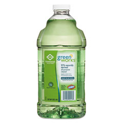 Green Works® All-Purpose and Multi-Surface Cleaner, Original, 64oz Refill