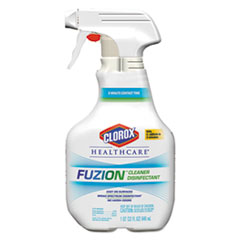 Clorox® Healthcare® Fuzion Cleaner Disinfectant, 32 oz Spray Bottle