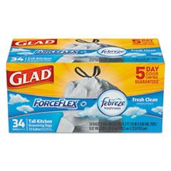 Glad® ForceFlex® OdorShield® Tall Kitchen Drawstring Bags Thumbnail