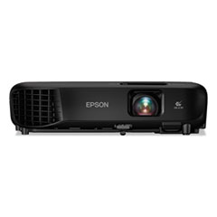 Epson® PowerLite 1266 Wireless 3LCD Projector, 3600 lm, 1280 x 800 Pixels, 1.2x Zoom