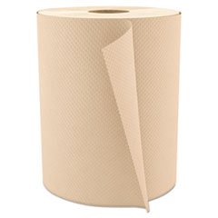 """Cascades PRO Select Roll Paper Towels, 1-Ply, 7.875"""" x 600 ft, Natural, 12/Carton"""