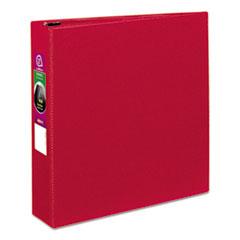 "Avery® Durable Binder with Slant Rings, 11 x 8 1/2, 2"", Red"