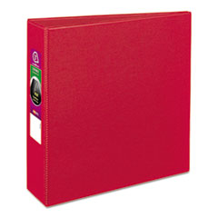 "Avery® Durable Binder with Slant Rings, 11 x 8 1/2, 3"", Red"