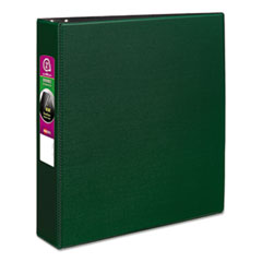 "Avery® Durable Binder with Slant Rings, 11 x 8 1/2, 2"", Green"