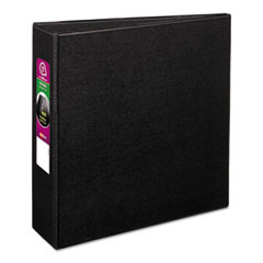 "Avery® Durable Binder with Slant Rings, 11 x 8 1/2, 3"", Black"