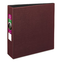 "Avery® Durable Binder with Slant Rings, 11 x 8 1/2, 3"", Burgundy"