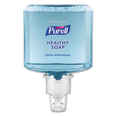 PURELL® Professional HEALTHY SOAP 0.5% BAK Antimicrobial Foam, For ES4 Dispensers, 2/CT