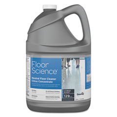 Diversey™ Floor Science Neutral Floor Cleaner Concentrate, Slight Scent, 1 gal Container