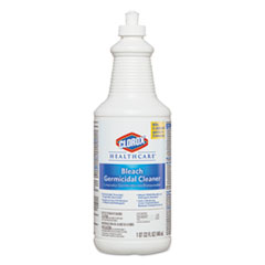 Clorox® Healthcare® Bleach Germicidal Cleaner, 32 oz Pull-Top Bottle