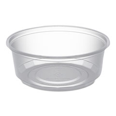Anchor Packaging MicroLite Deli Tub, 8 oz, Clear, 500/Carton