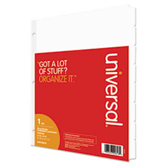 Universal® Deluxe Write-On/Erasable Tab Index Thumbnail