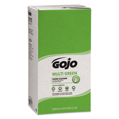 GOJO® MULTI GREEN Hand Cleaner Refill, Citrus Scent, 5,000 mL, 2/Carton