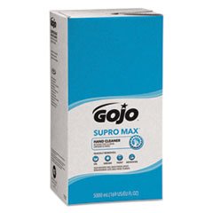 GOJO® SUPRO MAX Hand Cleaner Refill, Floral Scent, 5,000 mL, 2/Carton