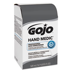 GOJO® HAND MEDIC Professional Skin Conditioner, 500 mL Refill, 6/Carton
