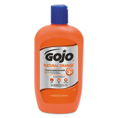 GOJO® NATURAL ORANGE Pumice Hand Cleaner, Citrus, 14 oz Bottle