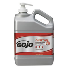 GOJO® Cherry Gel Pumice Hand Cleaner, Cherry Scent, 1 gal Bottle, 2/Carton