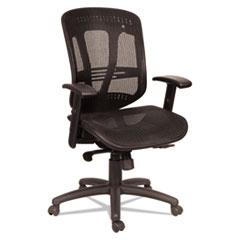 Alera® Eon Series Multifunction Mid-Back Suspension Mesh Chair