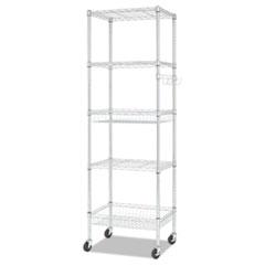 Alera® NSF Certified 6-Shelf Wire Shelving Kit