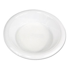 Boardwalk® Hi-Impact Plastic Dinnerware, Bowl, 10-12 oz, White, 1000/Carton